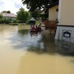 Hochwasser 2013 das Wasser fällt 1