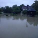 Hochwasser 2013 das Wasser steigt 2