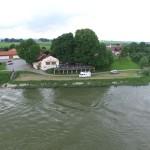 Mühlhamer Keller aus der Luft mit Donau