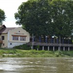 Aus der Donau etwas Flussabwärts