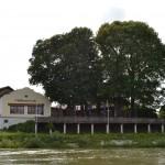 Terrasse und Donau-Radweg