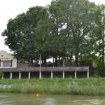 Aus der Donau etwas Flussaufwärts
