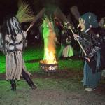 Rituale, die böse Wintergeister vertreiben (Fotos: Moosmüller und Regensperger)