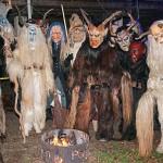 Schaurig schön war die Maskenpracht der Passauer Burgdeiffen (Fotos: Moosmüller und Regensperger)