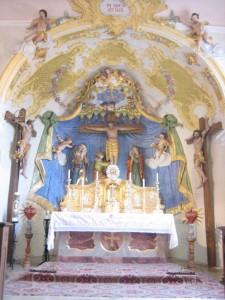 kreuzbergkirche haardorf altar
