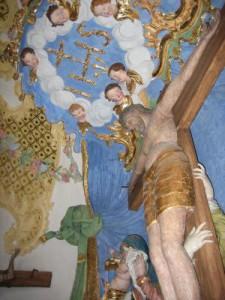 kreuzbergkirche haardorf innen