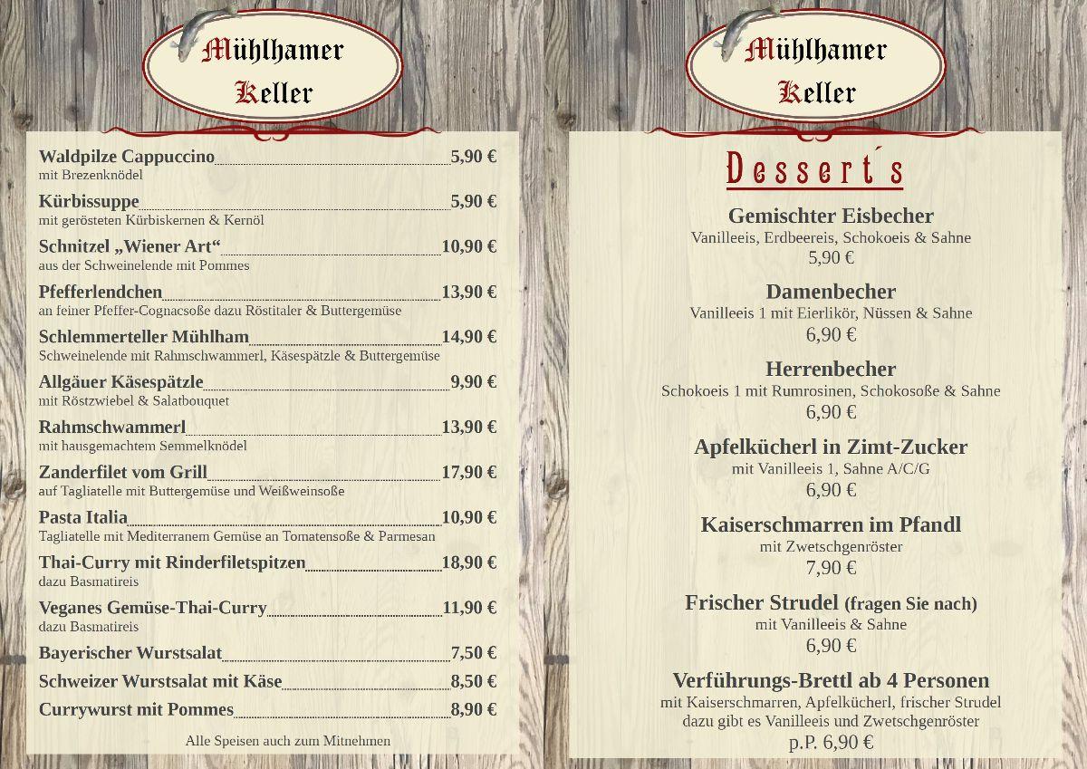 Schmankerl-Karte